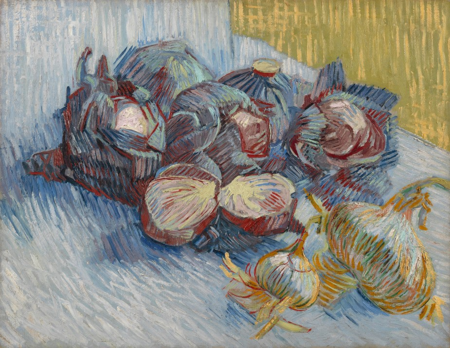 Red cabbages and onions 1887
