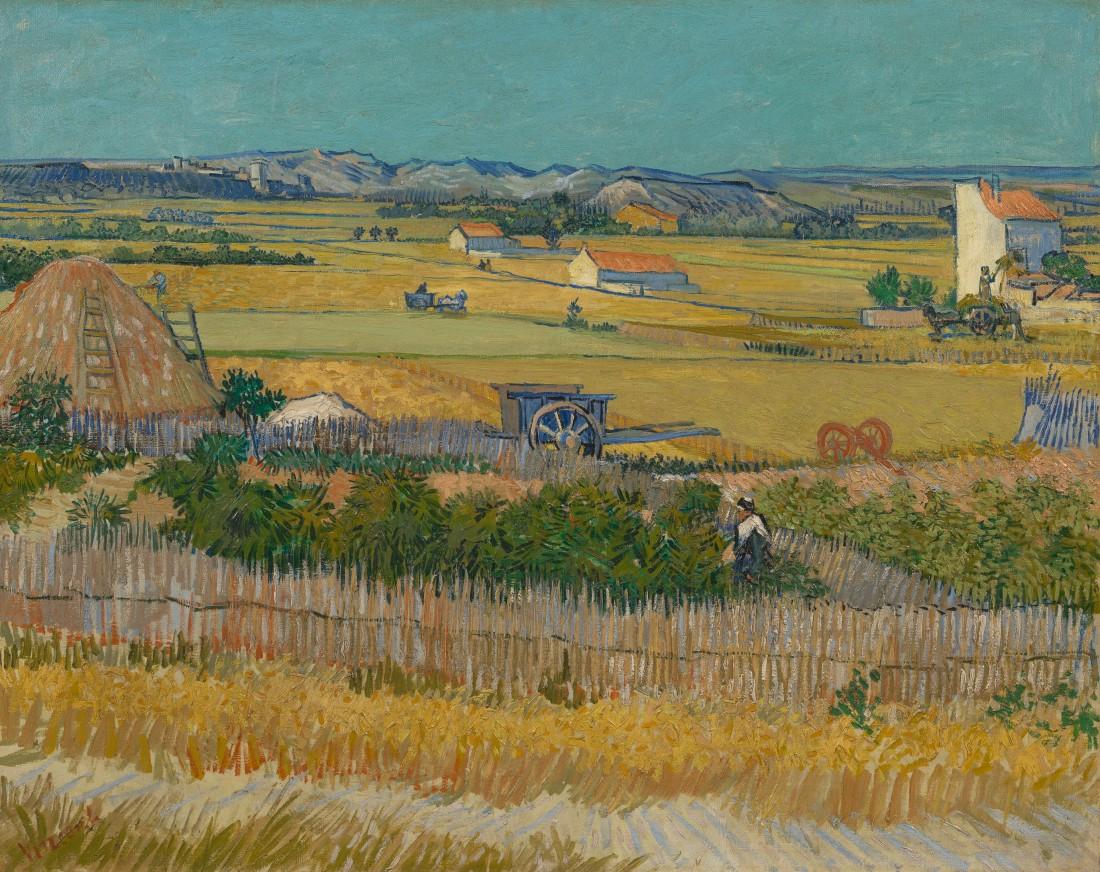 The harvest 1888