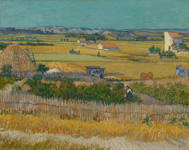 The harvest 1888